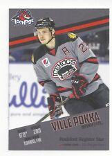 2017-18 Rockford IceHogs (AHL) Ville Pokka