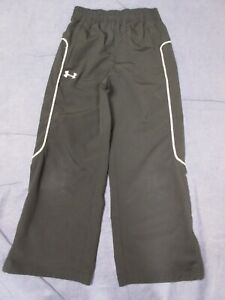 Boys UNDER ARMOUR Athletic/Sweat Pants - Youth Large - Black/Gray - Loose Fit