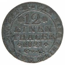 Braunschweig 1/12 Taler 1821 A43145