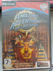 AMAZING ADVENTURES THE LOST TOMB GAME PC CD ROM NEW SEALED