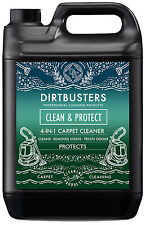 Dirtbusters Carpet  cleaning solution shampoo Cleaner odour Stain remover