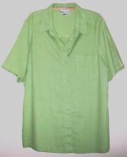 Lovely Lime Green Top Liz Jordan size 18 excellent condition