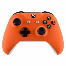 Soft Touch Orange Housing Shell Faceplate for Xbox One S Slim Controller