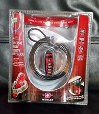 Wenger Guardia  Universal Mobile /Laptop Security Cable Lock NIB~Free shipping