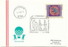 A 8784 TRIEBEN 1.Paltentaler Briefmarkenausstellung-Vom Götterboten z. Postboten