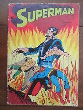 SUPERMAN NUMERO 6 SAGE 1976 RARE