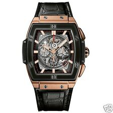 Hublot Spirit Of Big Bang Chronograph 601.om.0183.lr 18kt Rose Gold Ret: $43,600