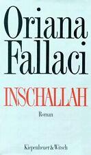 Inschallah. Roman von Oriana Fallaci | Buch | Zustand gut