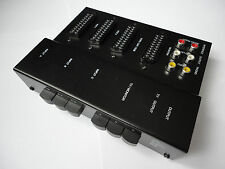 RGB SCART SWITCHER BLACK METAL SWITCH BOX PVM BVM