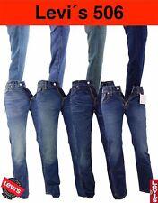 LEVIS 506 Herren Jeans Hose Regular Fit Grösse & Farbe Gr. Wählbar