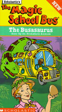 Magic School Bus - The Busasaurus - SEALED VHS - Bone up on Prehistoric Animals