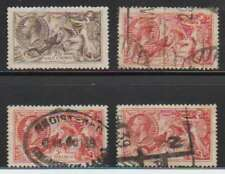 A7733: Great Britain #179, 180, 223 (2), Used, Sound; CV $320