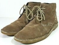 Bjorndal Navigator Mens Chukka Boots Brown Suede Leather Size 8