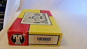HO Scale Timberline Models, Fire House Craftsman Kit, #154-1695 Vintage BNOS