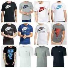 Magliette da uomo tinta unita Nike in cotone