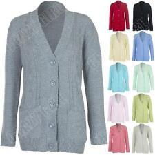 Button Regular Size Jumpers & Cardigans Winter for Women
