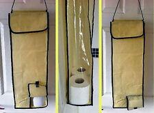 Over Door Toilet Roll Organiser Holder Overdoor Hanging Storage Bathroom Loo Bog