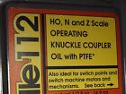 LABELLE 112 HO,N & Z KNUCKLE COUPLER OIL WITH PTFE BIGDISCOUNTTRAINS