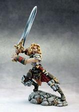 Deenah Barbarian Reaper Miniatures Dark Heaven Legends Fighter Warrior Melee RPG