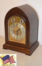 New ListingRestored Seth Thomas Chime 72 - 1921 Grand Antique Cabinet Clock In Mahogany