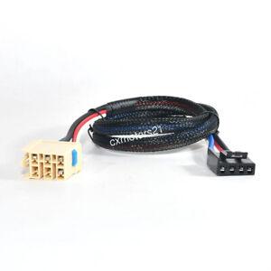FOR CHEVY SILVERADO 1500 2500 99-02 2-PLUG TRAILER BRAKE CONTROL WIRING ADAPTER