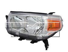 TYC Left Driver Side Halogen Headlight for Toyota 4Runner Limited, SR5 10-13