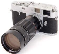 Leica M2 35 mm telemetro LEITZ 1959 SANKYO Koki Komura F = 135 mm 1:2 .8 LENTE veloce