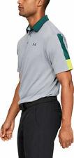 Under Armour Ua Playoff 2.0 Men's Golf Polo Shirt 327037 Size Xl Steel 036