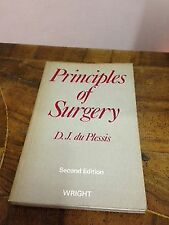D.J. Du Plessis – Principles of surgery – Second edition – Wright – 1976
