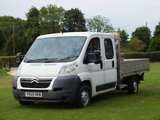 2009 59 CITROEN RELAY DROPSIDE PICKUP FLATBED DOUBLE CAB DUCATO BOXER DIESEL LWB