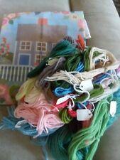 Claire Murray~Rose Cottage~Nantucket~Cape Cod~Beach Garden~Needlepoint Kit