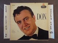 """DON CORNELL """"DON"""" LP CORAL CRL 57055"""