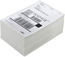 1000 4x6 Fanfold Direct Thermal Shipping Labels For Zebra And Rollo Printers