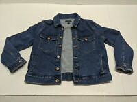 J. Crew Mercantile Denim Jean Jacket - Dark Wash Women's size XL Cotton