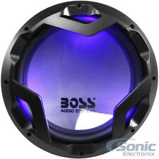 "NEW! 2 BOSS 3200W 12"" Dual 4 Ohm Car Subwoofers with LED ILLUMINATION 