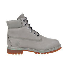 Timberland 6 Inch Premium Big Kid's Waterproof Boots Grey TB0A1KTK