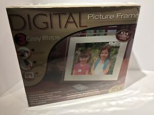 "10.4""  Viewable Digital Picture  Acrylic  Frame  12 X 10 Size  ( New Sealed) ⭐️"