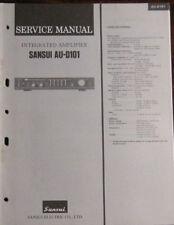 Sansui AU-D101 amplifier service repair workshop manual (original copy)