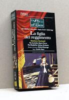 LA FIGLIA DEL REGGIMENTO  (vhs, Un palco all'opera, Fabbri Video)