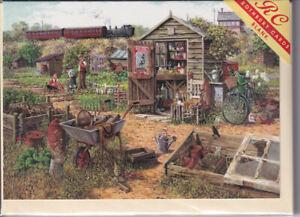 Grow Your Own Greetings Card birthday Rothbury nostalgia allotment gardening
