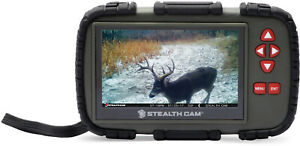 """Stealth Cam SD Card Reader/Viewer with 4.3"""" LCD Touch Screen"""