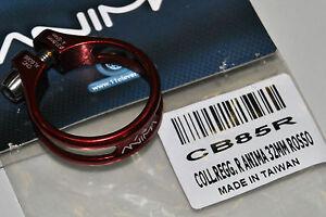 Collarino Reggisella ANIMA Alluminio Superleggero Rosso/SEAT CLAMP ANIMA RED
