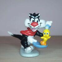 Looney Tunes Sylvester & Tweety Pie Figure Applause 1988 Rare Warner Brothers