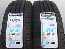 2 Sommerreifen Continental ContiEcoContact 5 AO 215/65R16 98H Neu!