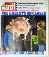 Paris Match N° 1290 - 26 janvier 1974 - Enfants education sexuelle, Lip