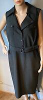 Per Una Speziale Womens Sleeveless Pencil Dress Uk Size 14 Green BNWT RRP: £99