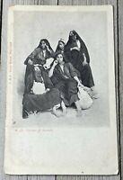 Vintage Egypt Ladies Women RPPC Postcard Post Card