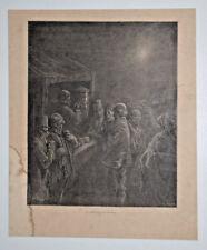 Premiere Tasse Cafe Londres GUSTAVE DORE Gravure PISAN 1872