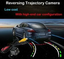 4 LED Car Dynamic Track Rear View Reverse trajectory CCD Camera tracking Lines