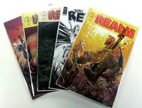 Image THE REALM (2017) #1-4 1st Prints +#6 VIRGIN VARIANT NM (9.4) Ships FREE!